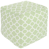 Surya Intersecting Circular Square Pouf
