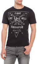 Ringspun Fights Embroidered Tee