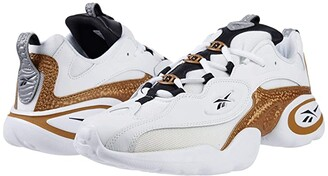 Reebok Electrolyte 97 (White/Gold/Black) Athletic Shoes