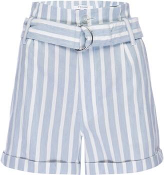 Frame Casual Linen Shorts