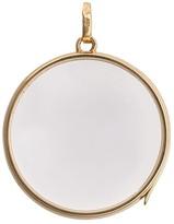 Loquet Large Round Gold Locket pendant