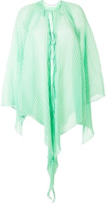 J.W.Anderson Lightweight Pleated Draped Top