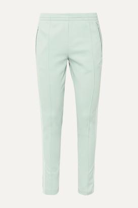 adidas Superstar Striped Satin-jersey Track Pants - Mint