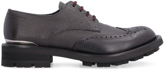 Alexander McQueen Leather Lace-up Shoes