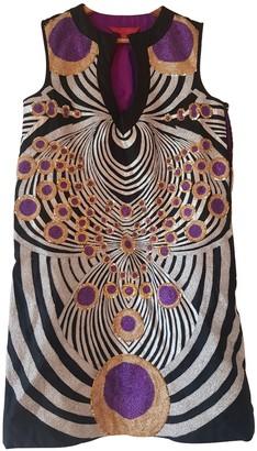 Manish Arora Multicolour Silk Dress for Women