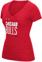 adidas Women's Chicago Bulls Stretched Type T-Shirt