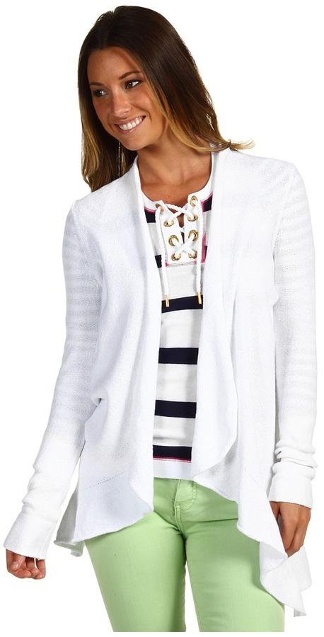 Lilly Pulitzer Morrigan Sweater (Resort White) - Apparel