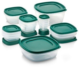 Rubbermaid 30pc Food Storage Container Set with Easy Find Lids Forest Green