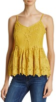 Ella Moss Olivier Lace Camisole Top