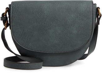 BP Faux Leather Saddle Bag