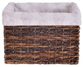 Threshold Basket Liner for Small Milk Crate - Paisley