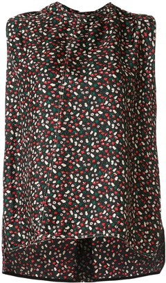 Marni Floral-Print Tank Top