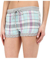 PJ Salvage Plaid Short