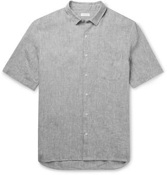 Sunspel Striped Linen Shirt