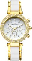 Timothy Stone Women's DÉSIRE Gold-Tone and White Watch