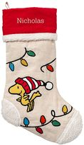 Peanuts® Stocking, Christmas Lights
