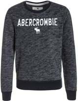 Abercrombie & Fitch CREW Sweatshirt navy