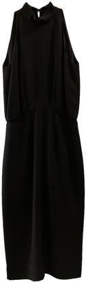 Tamara Mellon Black Silk Dresses