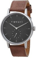 Rip Curl Circa Leather Strap Watch, 42mm