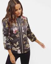 Ted Baker Floral jacquard bomber jacket