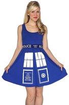 Doctor Who Tardis Juniors A-Line Dress