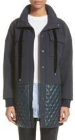 St. John Women's Quilted Stretch Tech Twill Jacket