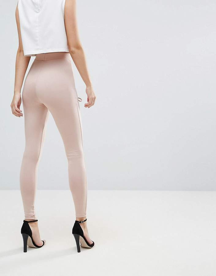 Asos Legging with Corset Lace Up Detail