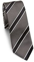 HUGO BOSS Jumbo Striped Silk Tie