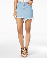 Asymmetric Denim Skirt - ShopStyle