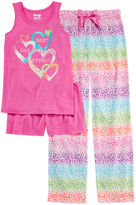 Asstd National Brand Sleep On It 3-pc. Best Day Pajama Set - Girls 4-16