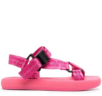 Off-White Chunky Logo-Print Sandals