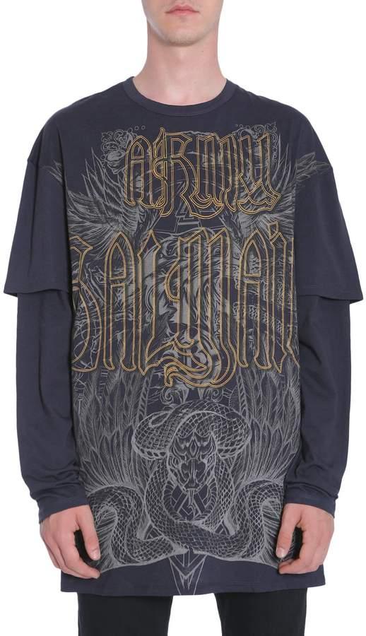 Balmain Double Sleeves T-shirt
