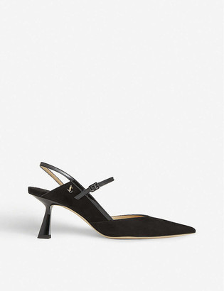 Jimmy Choo Ray 65 slingback suede courts