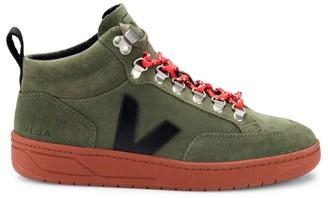 Veja Roraima Suede Mid-Top Sneakers