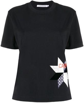 Calvin Klein Jeans logo print crew neck T-shirt