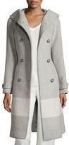 Woolrich Monica Hooded Belted Wool-Blend Coat
