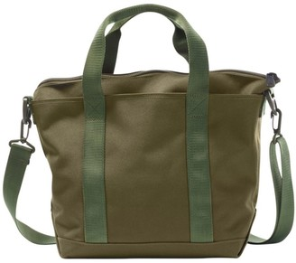 L.L. Bean Hunter's Tote Bag, Zip-Top with Shoulder Strap