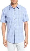 James Campbell Men's Astro Plaid Sport Shirt