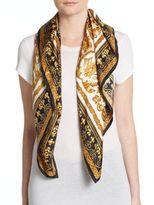 Saks Fifth Avenue Printed Silk Scarf