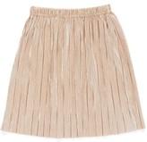 Truly Me Infant Girl's Metallic Pleated Skirt