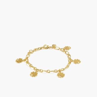 J.Crew Clover charm bracelet