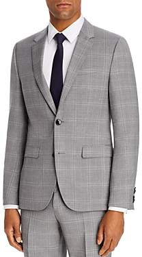 HUGO Astian Plaid Extra Slim Fit Suit Jacket