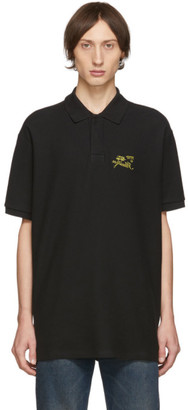 Raf Simons Black Illusion Polo