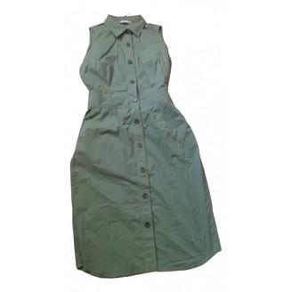 Marella Green Cotton - elasthane Dress for Women