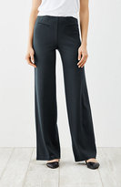 J. Jill Ponte Knit Full-Leg Pants