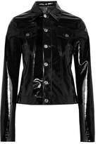 Helmut Lang Vinyl Jacket - Black