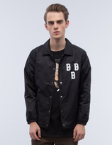 Black Scale Triple B Coach's Jacket