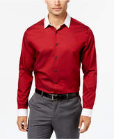INC International Concepts Men's Contrast Collar Shirt, Created for Macy's
