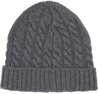 Eleventy Cable Knit Hat