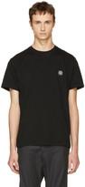 Stone Island Black Small Logo T-shirt